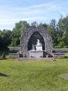 Williston Church Statue