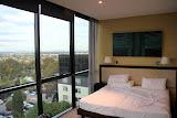 Our Hotel Room:  7th Floor, Corner Suite, Floor To Ceiling Windows...  $89 Price Tag = Amazing - Melbourne, Australia