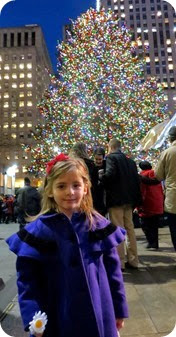 Rockefeller Tree and Christmas Lights