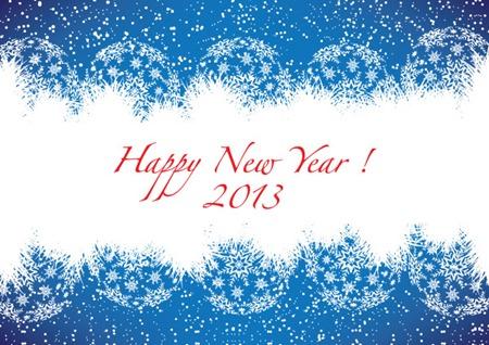 Новый год 2013 вектор
