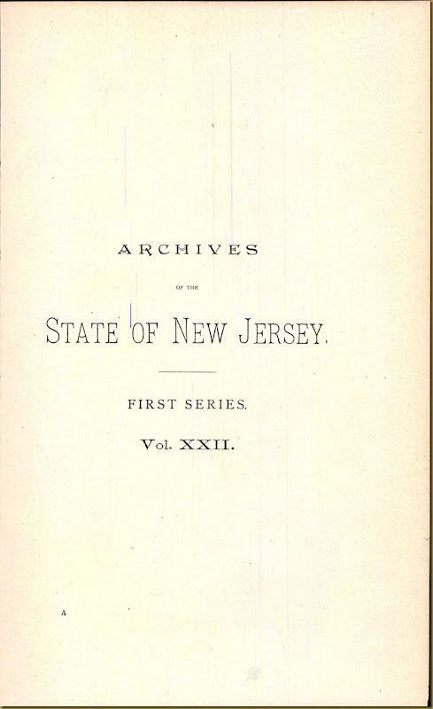 New Jersey, Marriage Records, 1683-1802 3