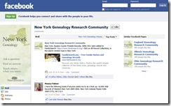 New York Genealogy FamilySearch Research Community