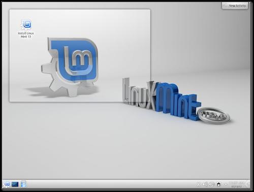 Linux Mint 13 KDE RC