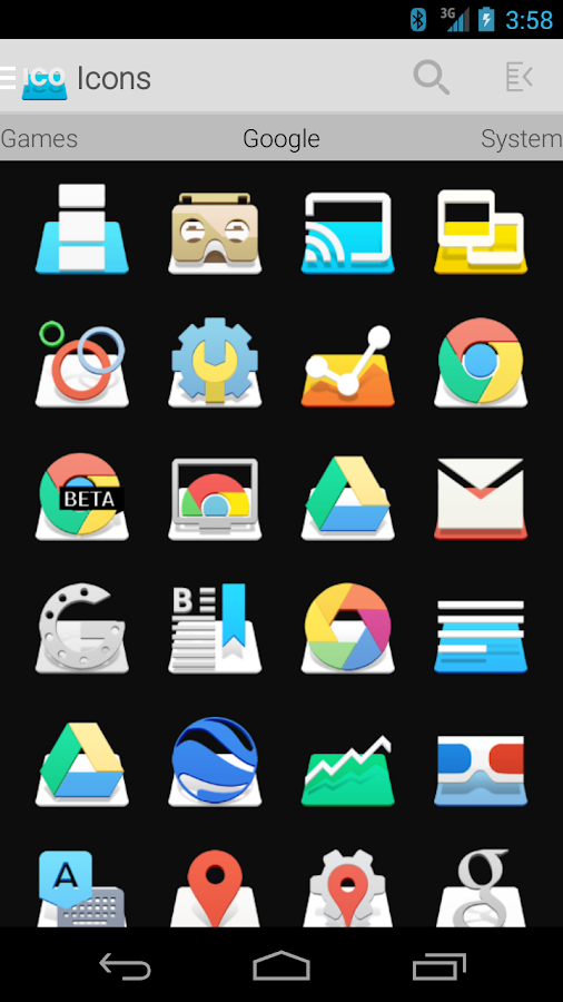 RAISE - Icon Pack Screenshot 1