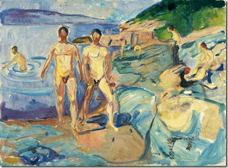 edvard munch - bathers