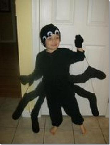 disfraz araña niño paso a paso (3)