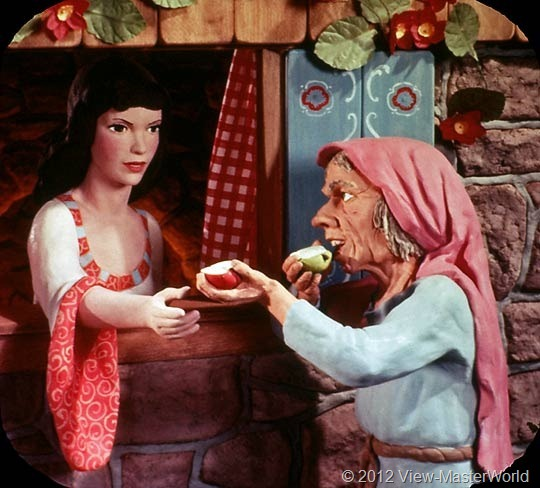 View-Master Snow White and the Seven Dwarfs (B300), Scene 17
