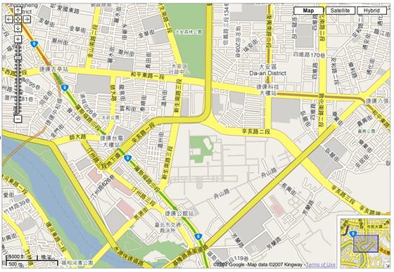 google-map-tw