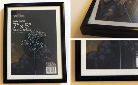 tiny black frame