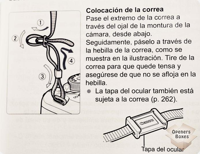 Colocando Strap\Alça\Corrêa de Segurança na Canon T3i