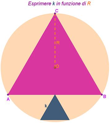 cerchio e due triangoli