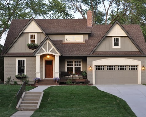 home exterior paint color schemes