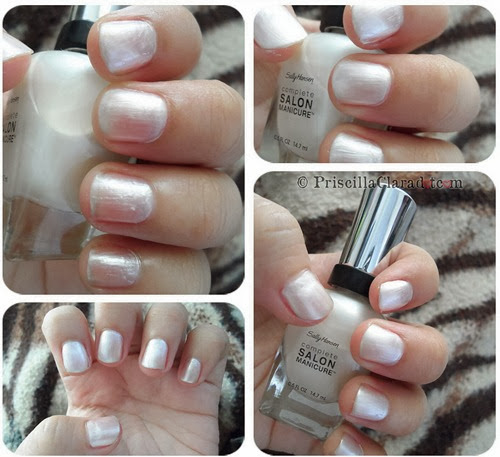 Priscilla Clara beauty blogger review Sally Hansen nail polish_5