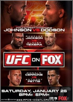 510597bc8d281 UFC on FOX 6: Johnson vs. Dodson RMVB + x264 HDTV
