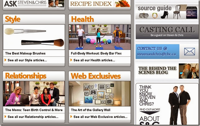 S&C homepage
