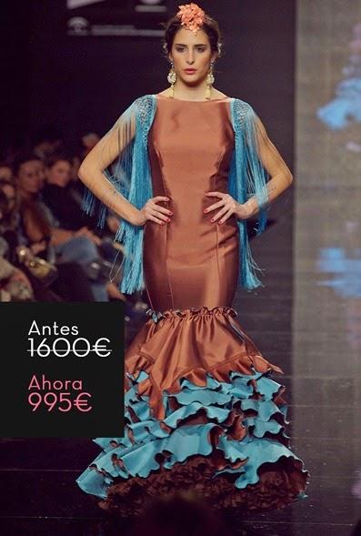 traje-flamenca-barato-marron-turquesa2
