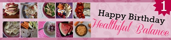 Happy First Birthday Healthiful Balance