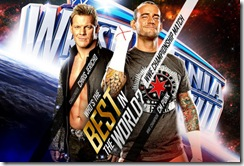 CM Punk Vs Chris Jericho at WMXXVIII