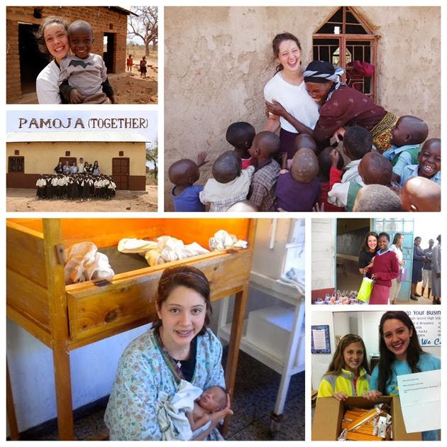 Riley Banks adolescente construyendo escuelas y orfanatos en Kenia