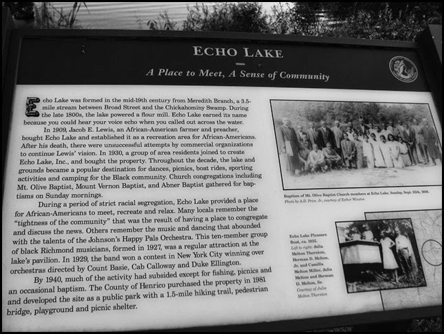 story of echo lake