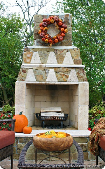 fall pumpkin wreath