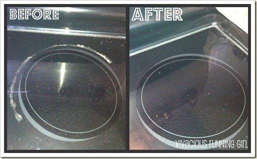 before after stove