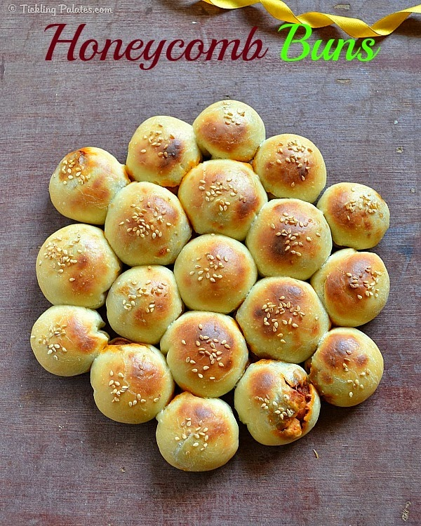 Bees hive buns recipe