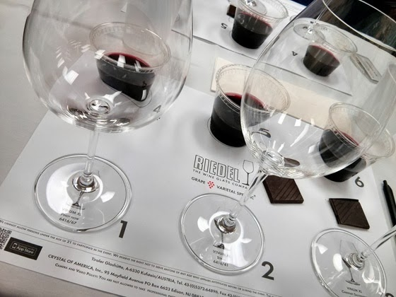 The tasting arrangement