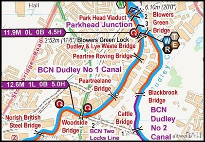 Waterways Routes 2 Locks