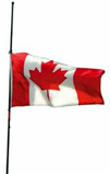 Cdn flag half mast