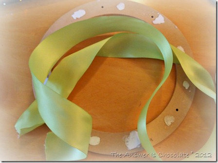 Scraps Wreath