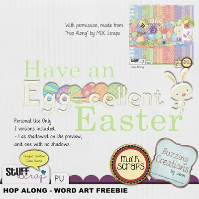 MDK Scraps - Hop Along - Word Srt Freebie Preview