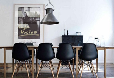Eames stol, Apartment Therapy