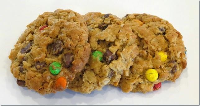 Ann Romney's Peanut Butter Oat M&M Cookies