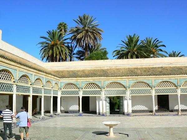 Imagini Marrakech: Palatul Bahia