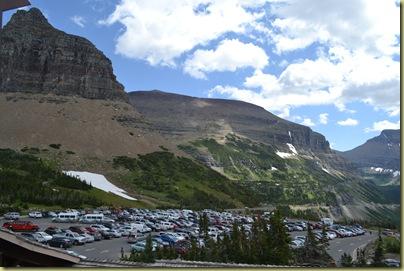 Logans Pass Car park