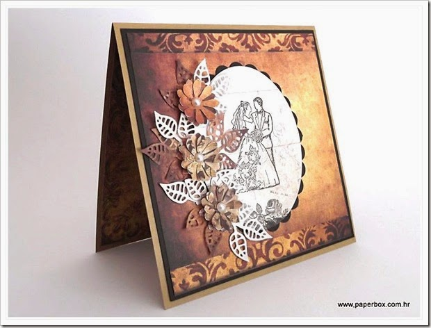Wedding card - Čestitka za vjenčanje (2)