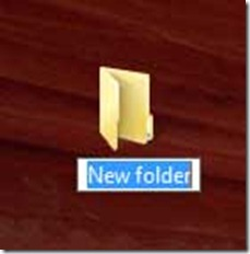 naming-a-new-folder