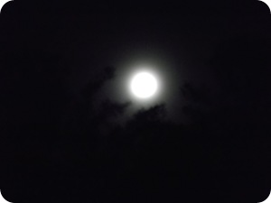 Super moon in May