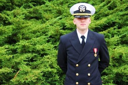 Mark Navy OCS Grad 21