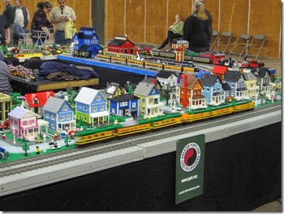 IMG_0175 Greater Portland Lego Railroaders Layout at the Great Train Expo in Portland, Oregon on February 16, 2008
