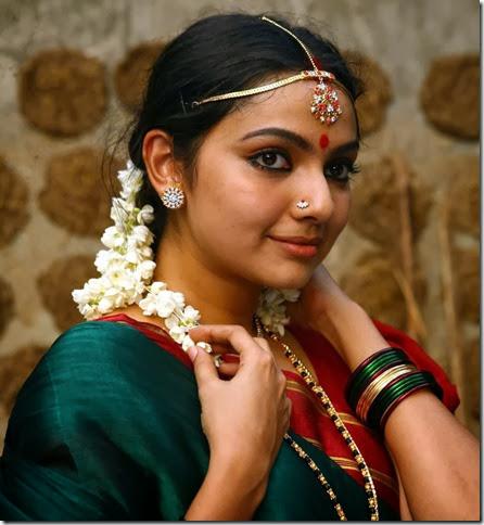 Actress Samvrutha Sunil in Namma Gramam Movie Photos