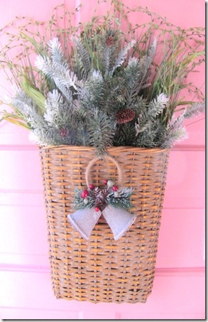 wreath basket