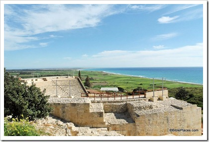 Kourion theater and coast, tb030405137
