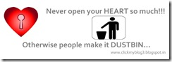 heart touching funny Never open your HEART so much!!! copy