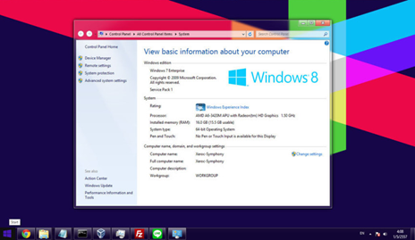Download Windows 8 Transformation Pack 8.1