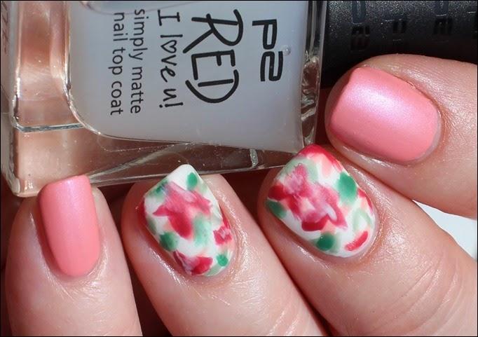 Mottomonat Blütenzauber Nageldesign Nail Art Flowers Spring 05