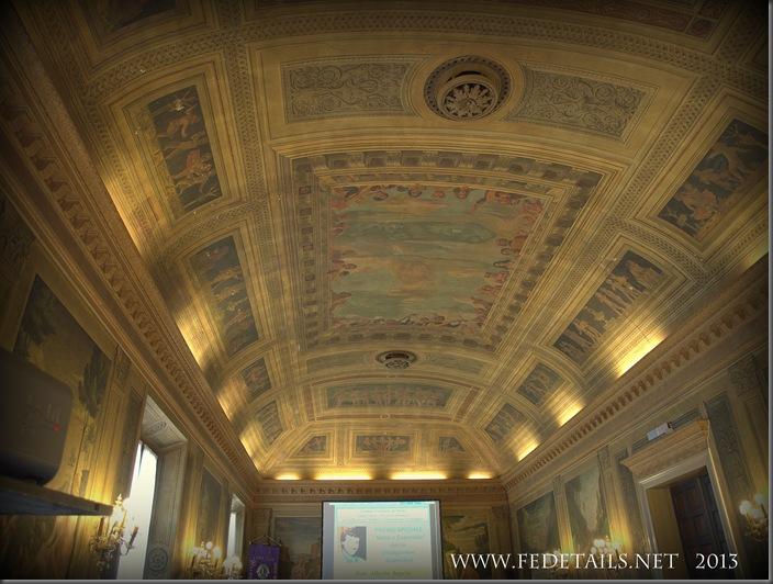 Palazzo Roverella, salone interno, foto 1, Ferrara, Emilia Romagna, Italia - Palace Roverella, interior salon, 1 photo, Ferrara, Emilia Romagna, Italy - Property and Copyrights of FEdetails.net