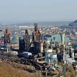 141884 Guillaume Ramon / Panoramic / Starface 2012-03-22 Florange France Les hauts-fourneaux du site d'Arcelor Mittal dans la vallee de la Fensch en Moselle.