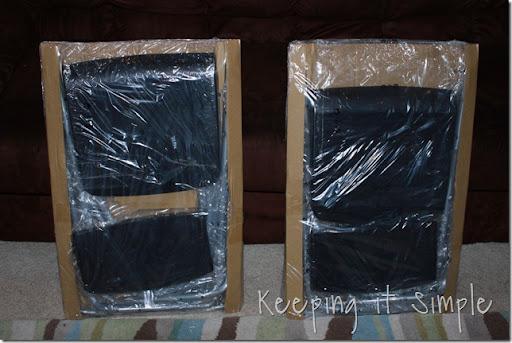 ikea chevron turquoise barstool (8)